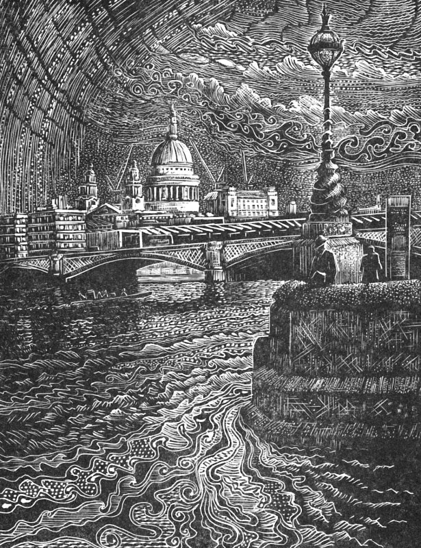 John Bryce RE, Passing Shower, Blackfriars