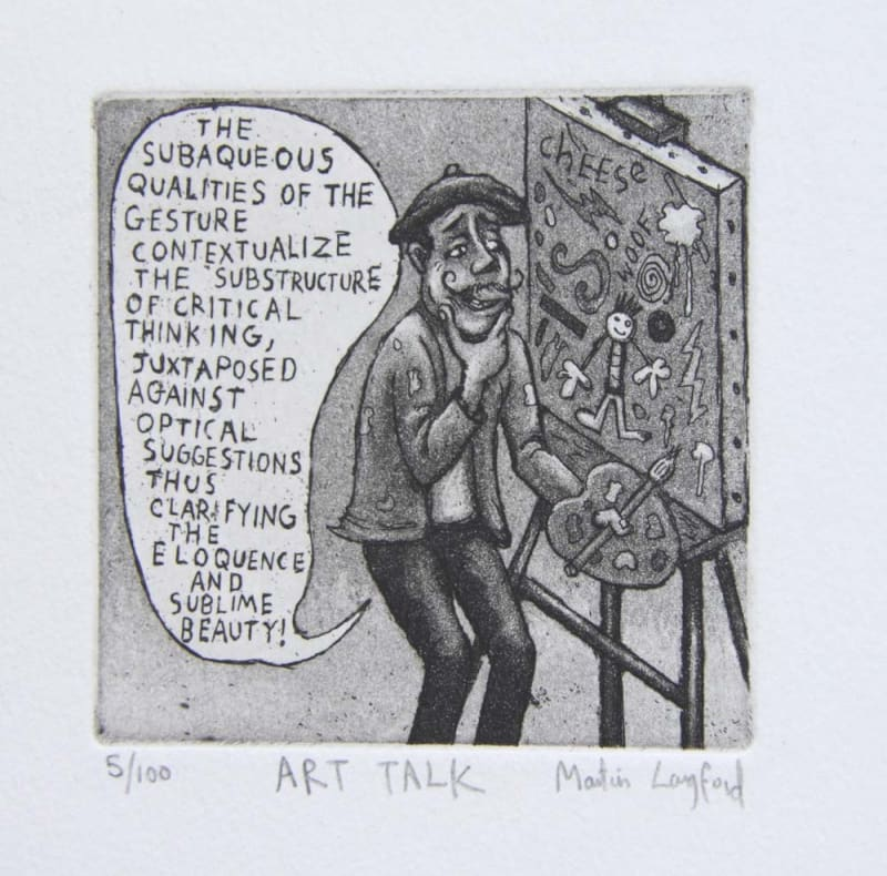 Martin Langford RE, Art Talk