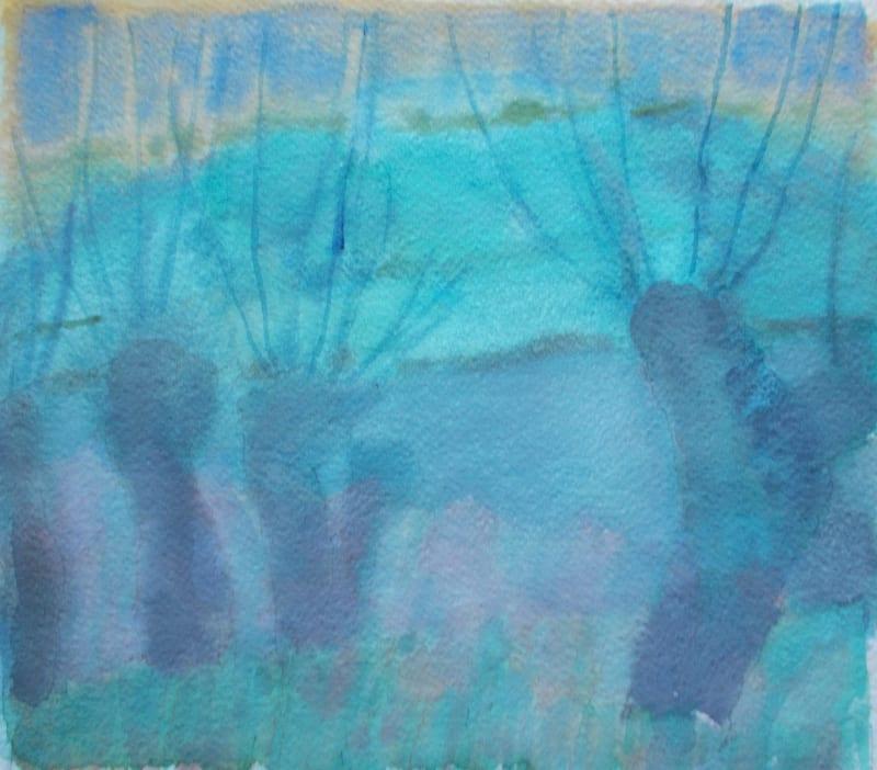 Anne Marlow RWS, Willows