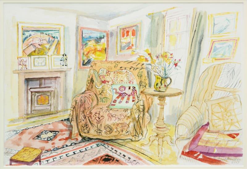 Richard Bawden RWS RE, The Elephant Chair