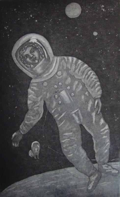 Linda Landers RE, Space Walking