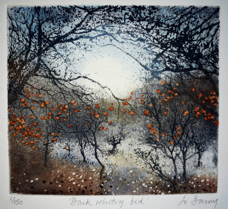 Jo Barry RE, Dark Wintry Bed