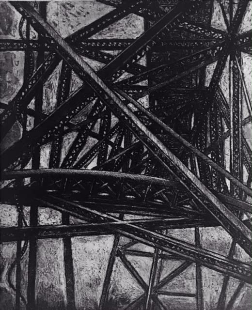 Jackie Newell RE, Steel Labyrinth