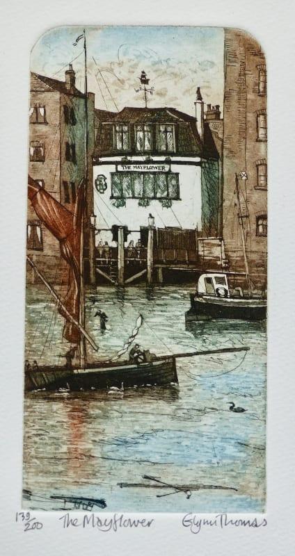 Glynn Thomas RE, The Mayflower