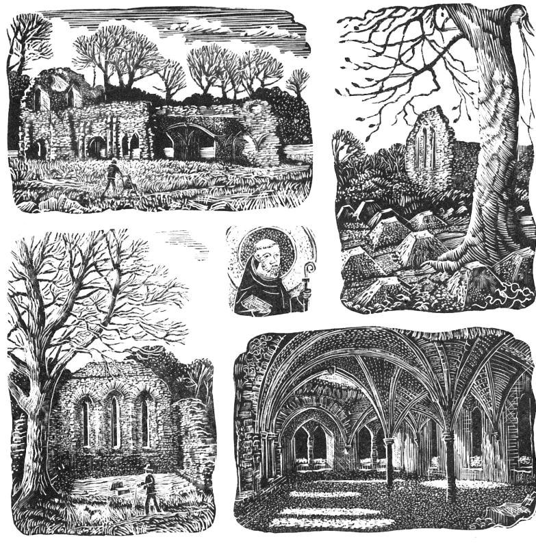 John Bryce RE, Waverley Abbey Ruins