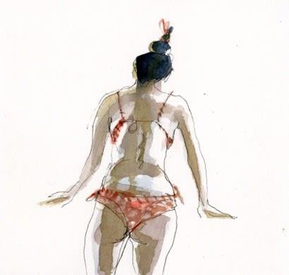 Julia Midgley RWS RE, Bikini