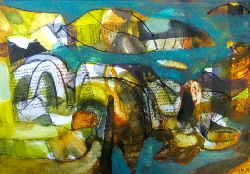 Mark Raggett VPRWS, Landscape with Arch