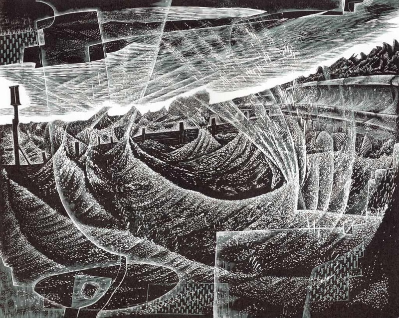 Neil Bousfield RE, Winter Sea II
