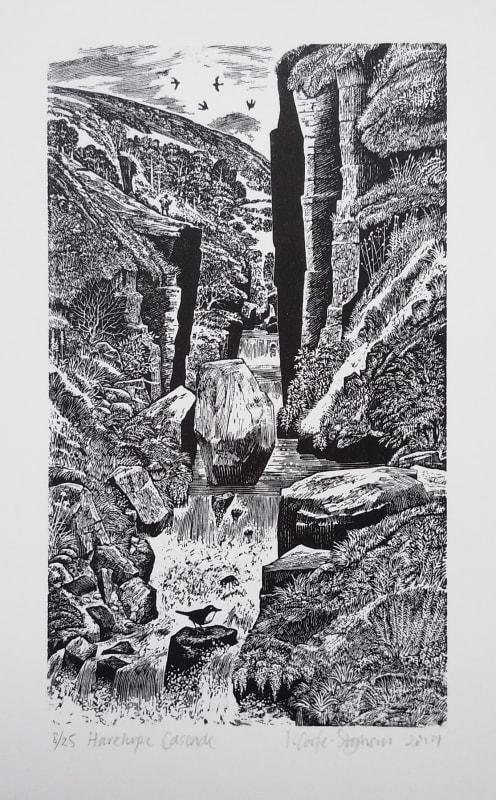 Ian Stephens RE, Harehope Cascade