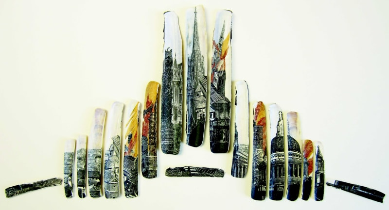 Anne Desmet RA RE, Fires of London