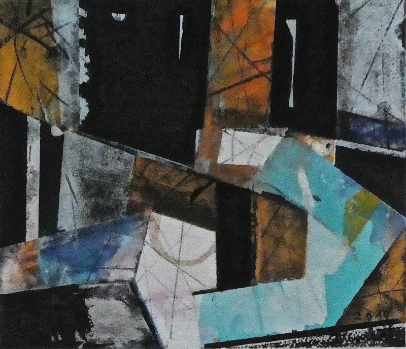Geoffrey Pimlott RWS, Black 7017
