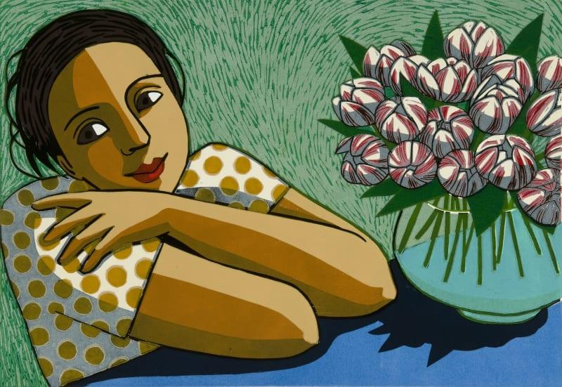 Anita Klein PPRE Hon. RWS, The Thank-you Flowers