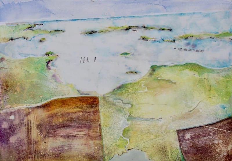 David Hamilton RWS, Over Shetland