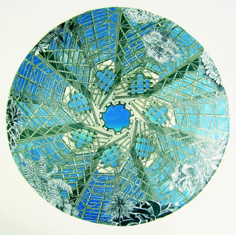 Anne Desmet RA RE, Glasshouse Kaleidoscope