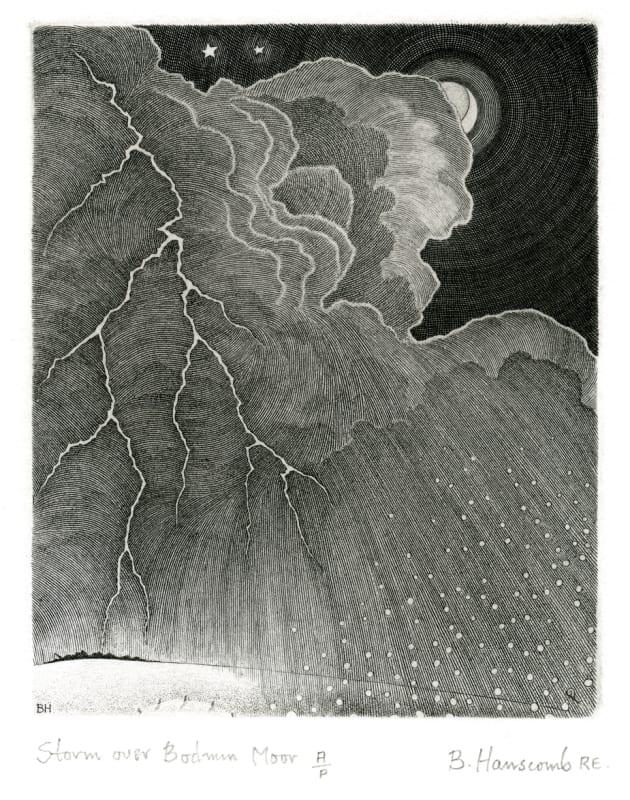 Brian Hanscomb RE, Storm over Bodmin Moor