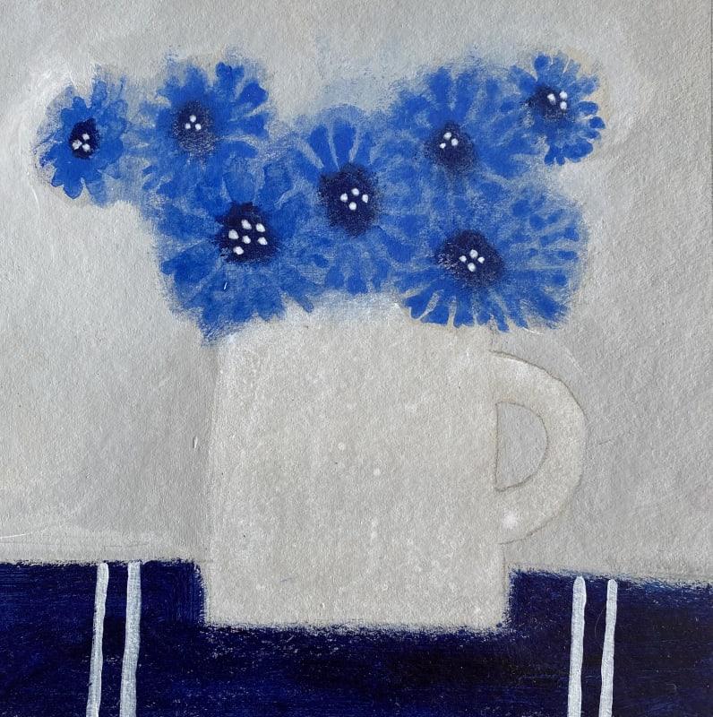 Jill Leman PRWS, Cornflowers