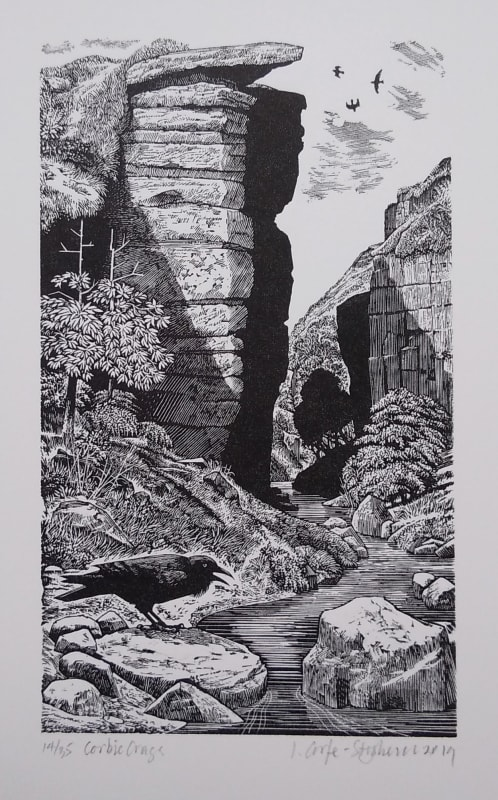 Ian Stephens RE, Corbie Crags