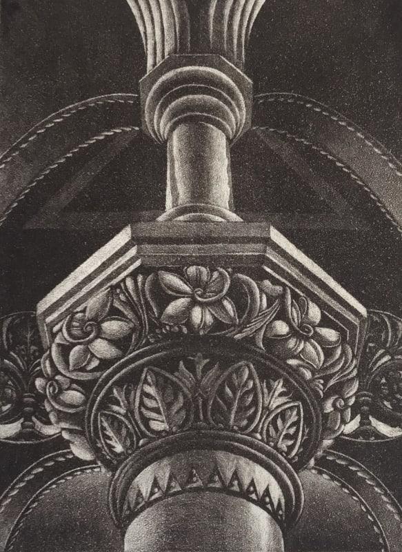 Jane Stobart RE, Bazalgette Column