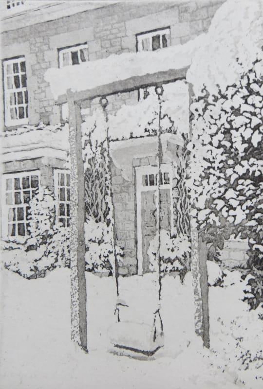 Joseph Winkelman PPRE Hon. RWS, Heavy Snow