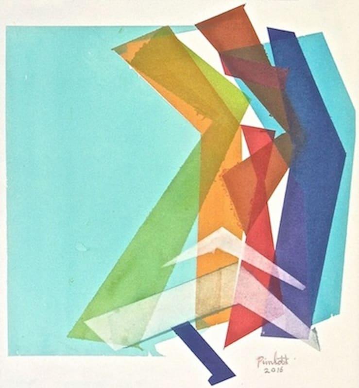 Geoffrey Pimlott RWS, Flat Cube Split
