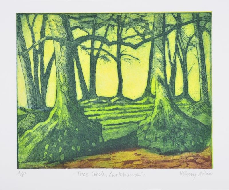Hilary Adair RE, Tree Circle, Larkbarrow