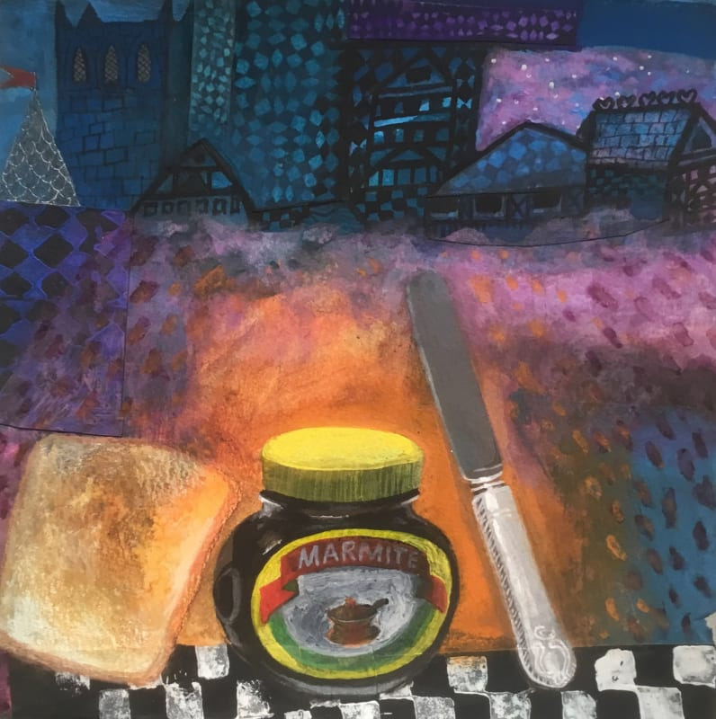 Gertie Young RWS, Early Breakfast with Marmite