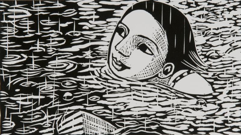 Anita Klein PPRE Hon. RWS, Swimming in the Rain