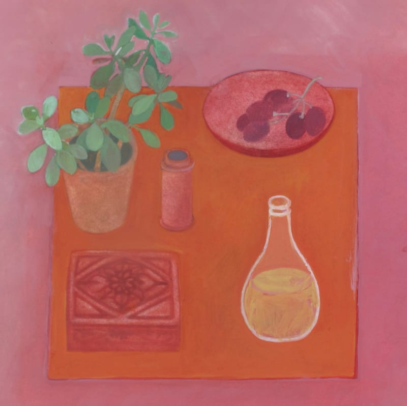 Wendy Jacob RWS, Orangina and Grapes