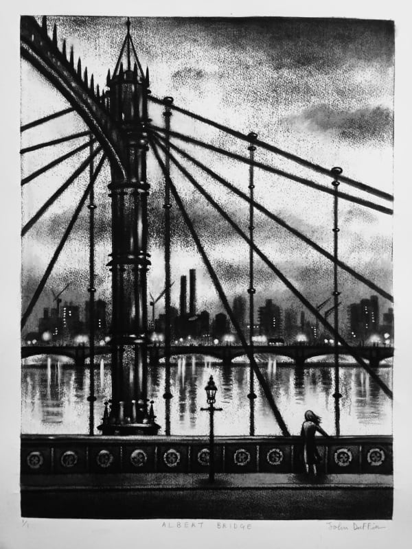John Duffin RE, Albert Bridge