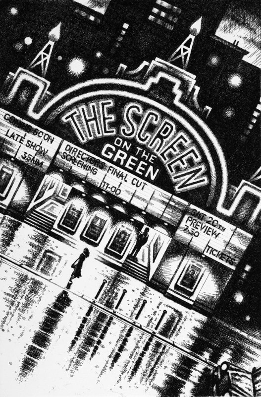 John Duffin RE, Film Noir - The Screen on the Green
