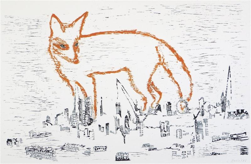 Sasa Marinkov RE, A Fox in the City