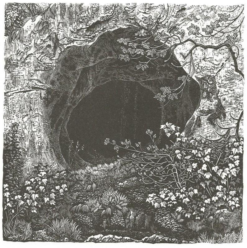 Miriam MacGregor  Dove Hole  wood engraving