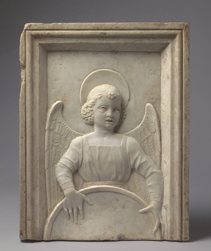 Antonio Rizzo, Angel holding a Shield