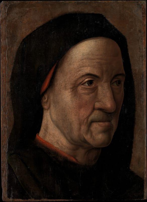 Hugo van der Goes, Portrait of an Old Man, c. 1470 - 75