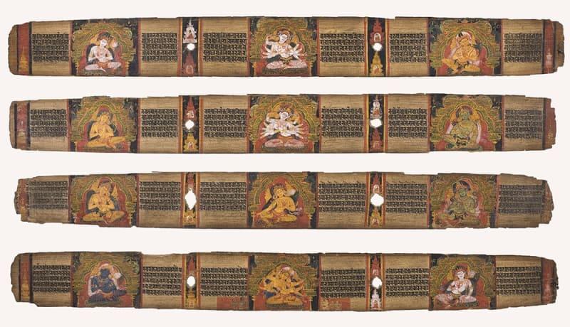 The Perfection of Wisdom (Prajnaparamita Sutra), Eastern India, Kondandmanandala