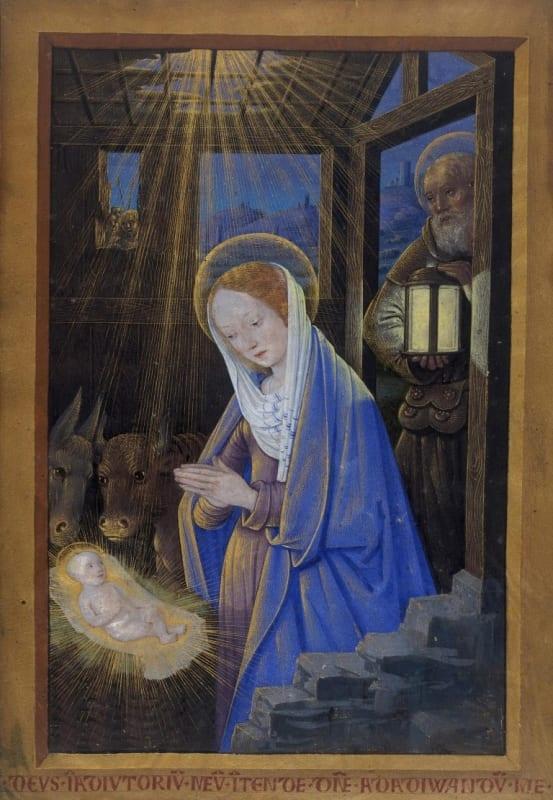 Jean Bourdichon, The Nativity