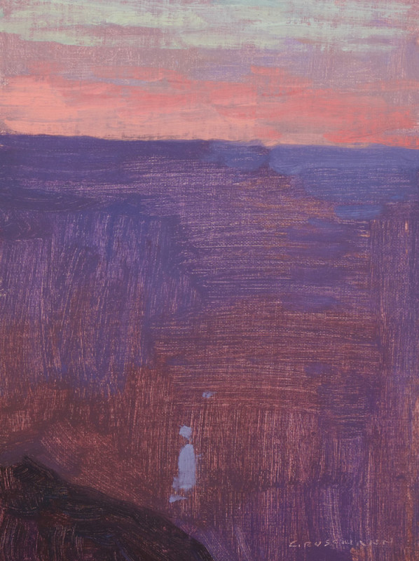 David Grossmann, Sunset Glow, Grand Canyon