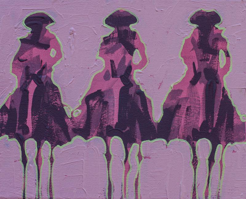 Duke Beardsley, Vaqueros Pequeños - Pink on Pink