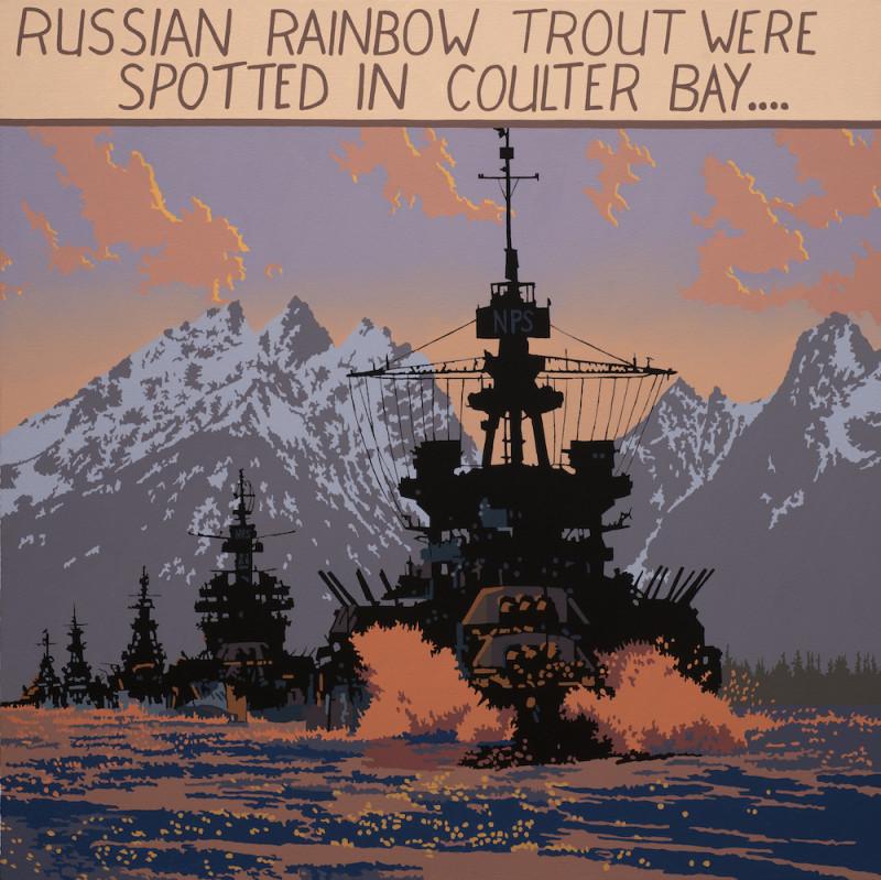 Billy Schenck, Russian Trout