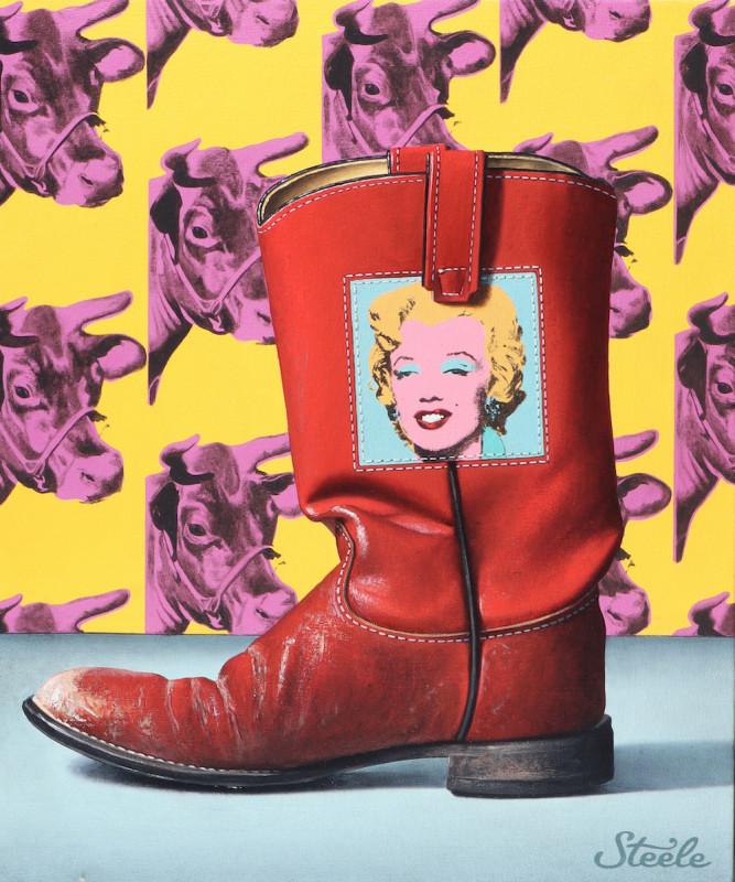 Ben Steele, Cow, Girl, Boot
