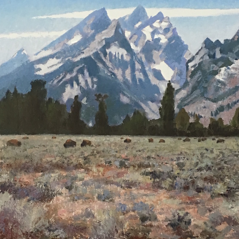 Gary Ernest Smith - Under the Tetons
