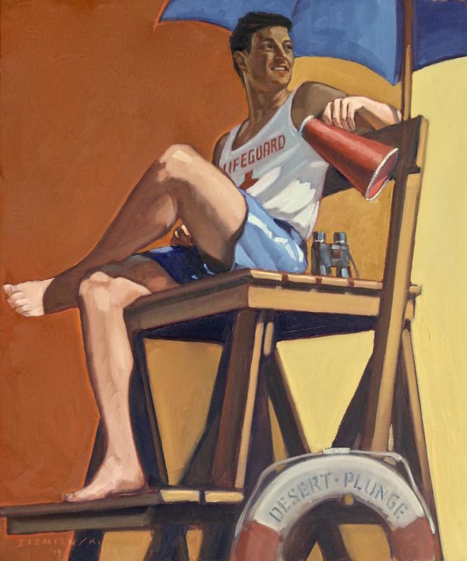 Dennis Ziemienski, The Lifeguard