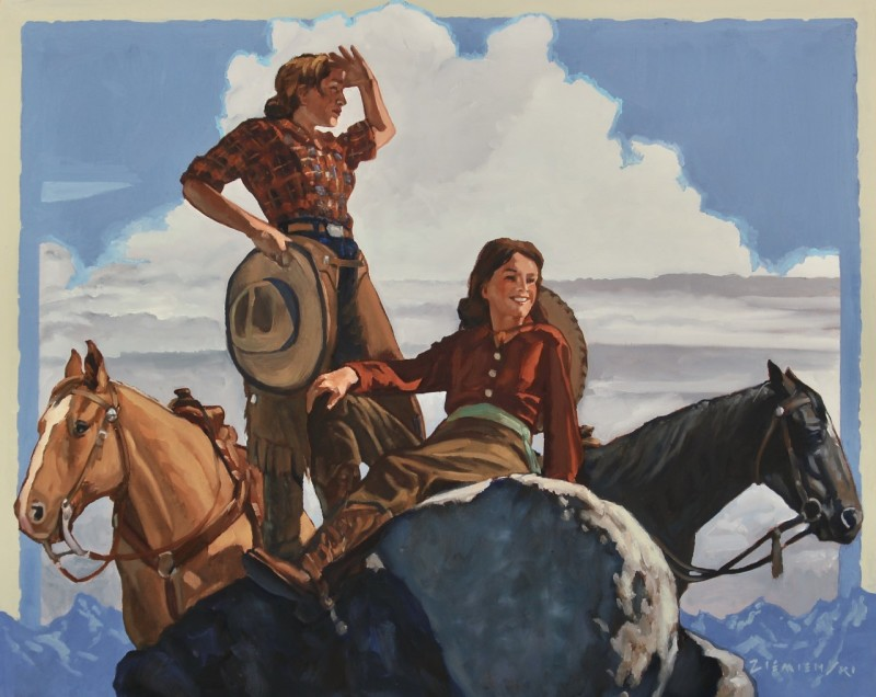 Dennis Ziemienski, Reconnoitering the Ridge