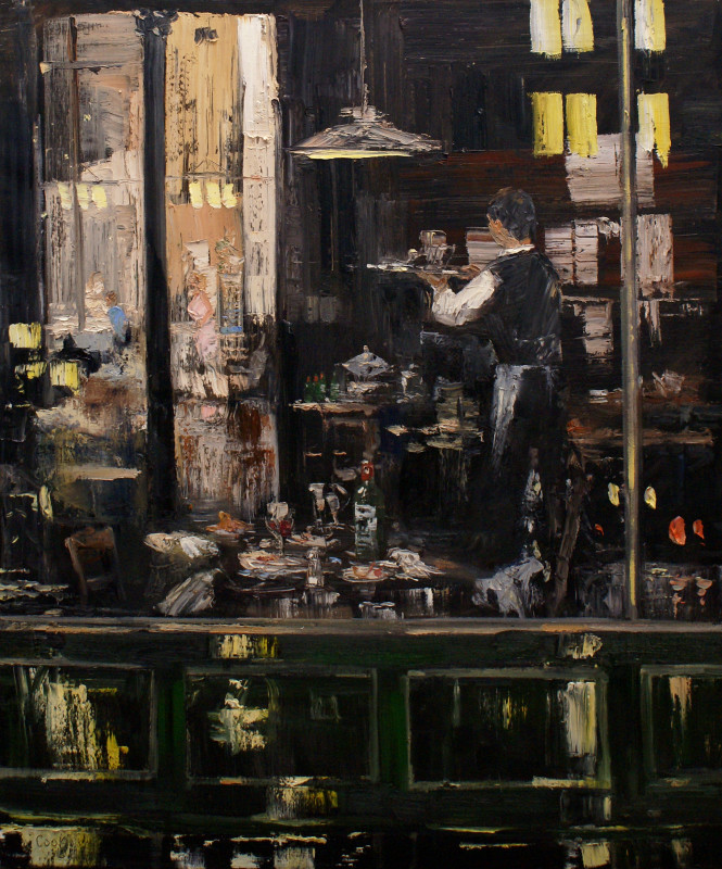 James Pringle Cook, Midtown After Hours #2