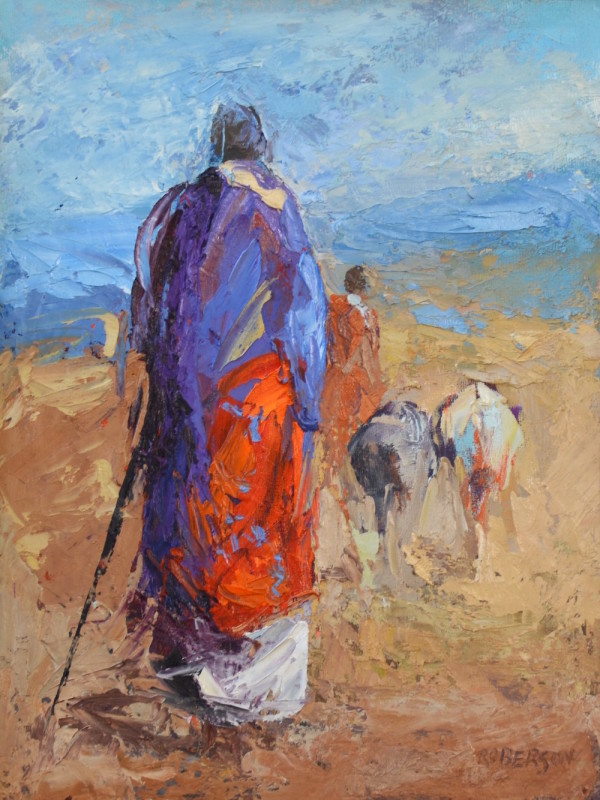 Mary Roberson, Wanderer