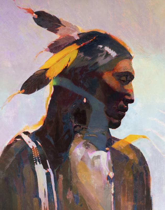 R. Tom Gilleon, Black Feet Yellow Feather