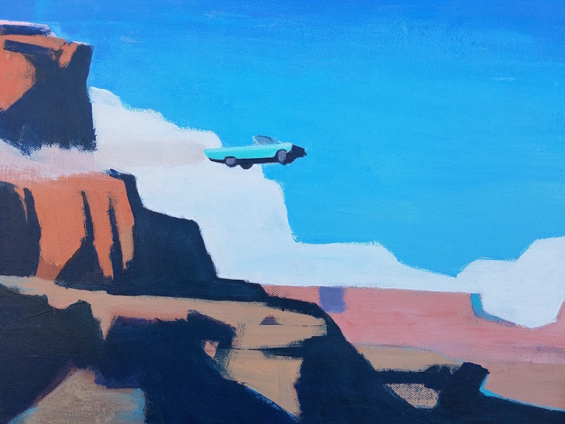 Travis Walker, Thelma and Louise Study