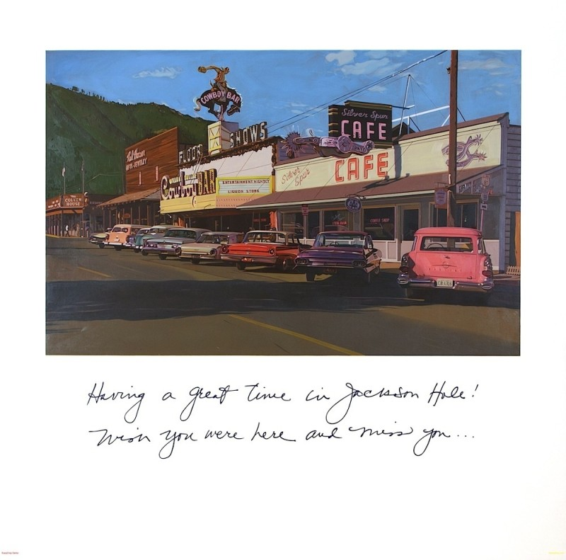 Robert Townsend, Greetings from Jackson Hole