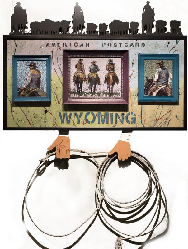 Thom Ross, Wyoming Postcard