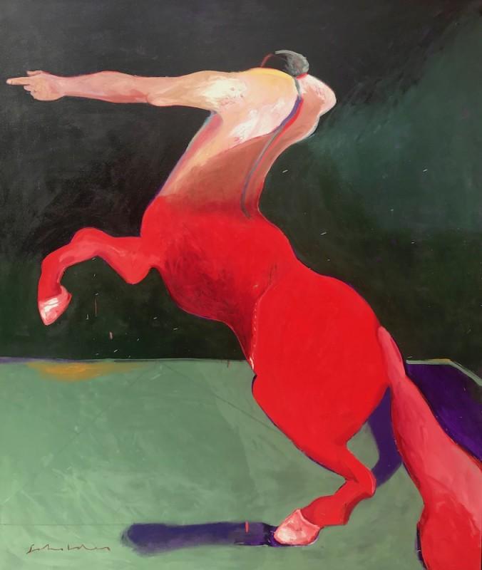 Fritz Scholder, Centaur #1, 1993